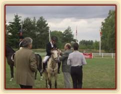 MČR pony 2004, Hradec Králové, Dekorování - bronzová medaile :-)