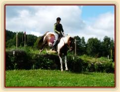 Srpen 2010, crossový trénink v Borové, seskok