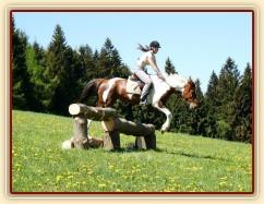 Vikina a skok přes kolmák ze svahu