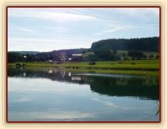 Humpolecké závodiště, terénní skoky u rybníka