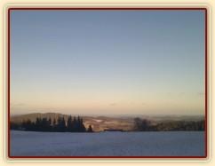 12.1.2012 - Pohled od nás do nížin bez sněhu
