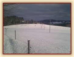 Občas jsme měli trochu sněhu...