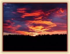Jeden z mnoha krásných východů slunce