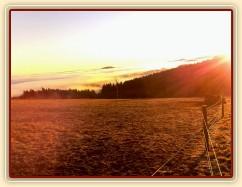 Východ slunce na jedné z webkamer...