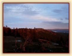Výlet, státní hranice, Jezerní hora