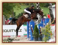 Chesterton, 8. místo finále KMK Zduchovice 5.9., 2x parkur S**