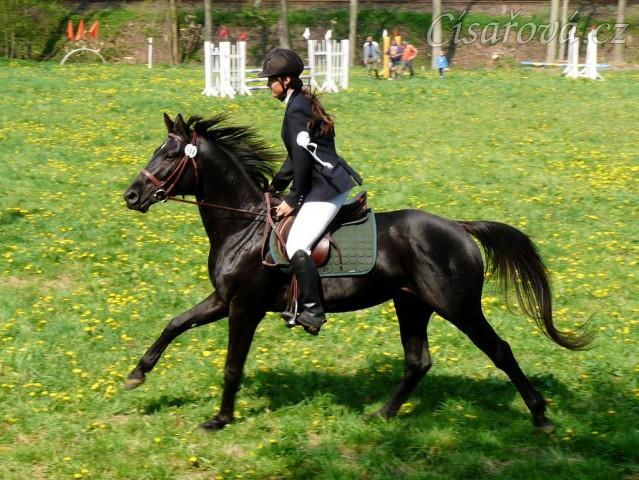 30.4.2011 - Carthago při čestném kole soutěže ZM v Hostouni, 2. místo